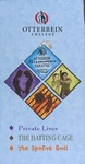 2007 Otterbein Summer Theatre Season Brochure by Otterbein University Theatre and Dance Department