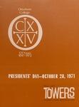Otterbein Towers Autumn 1971
