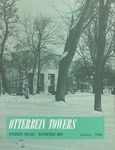 Otterbein Towers January 1966 by Otterbein University
