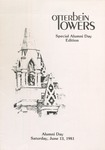 Otterbein Towers Alumni Day Special Edition June 1981