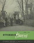 Otterbein Towers April 1959 by Otterbein University