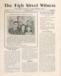 The High Street Witness: November 1952 by Otterbein University