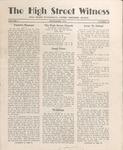 The High Street Witness: September 1952 by Otterbein University